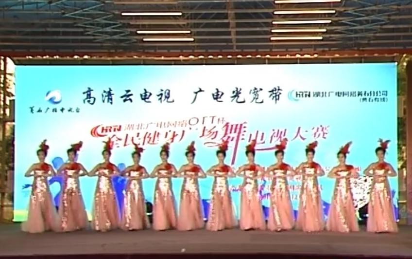 队名:黄石市女知联模特队   参赛编号:5   表演舞蹈:时装舞蹈