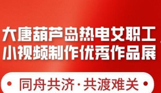 """大唐葫芦岛热电公司""""抗击疫情 我们在行动""""女职工抖音小视频展"""
