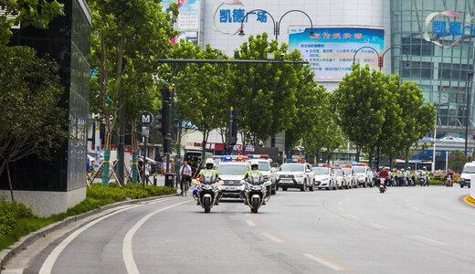 2017年硚口区公安分局巡逻战线十佳民警评选
